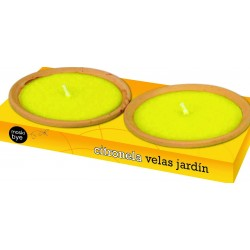 VELA PLATO TERRACOTA  (Pack...