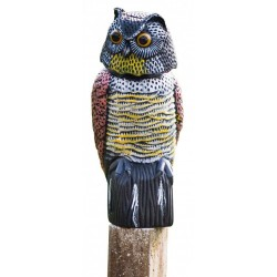 OWL SCARECROWS SWIVEL HEAD